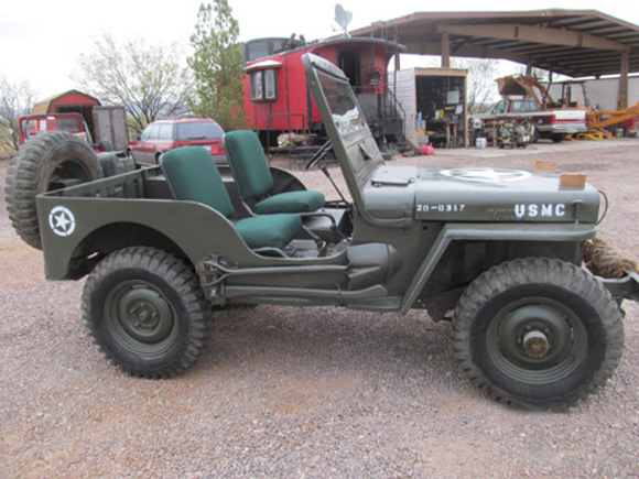 David McKnight's 1951 Willys M38