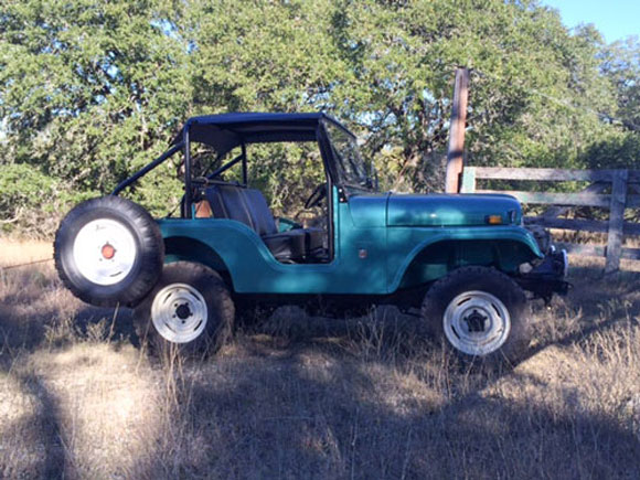 Ryan Littman's 1970 CJ-5