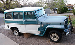 Robert Gill - 1962 Willys Station Wagon