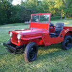 A Willys CJ-2A by the Name of Scarlett