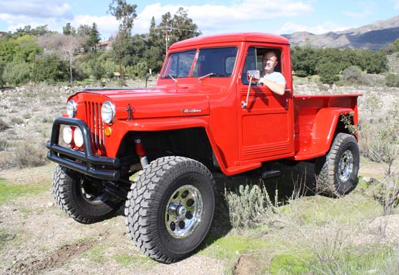 Gerry Rommel's 1949 Willys Truck