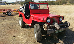 Colin Howard's 1946 Willys CJ-2A