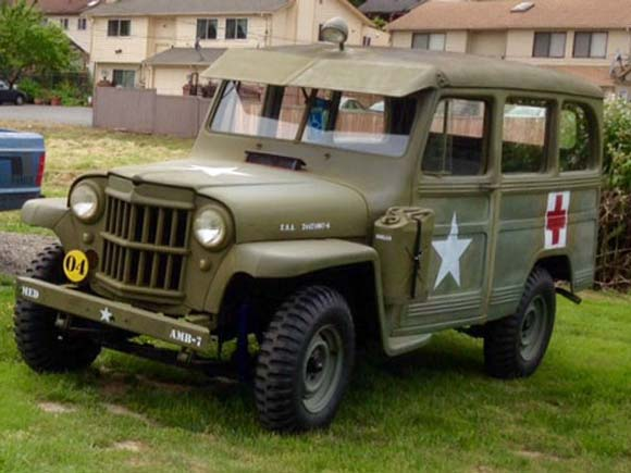 Jeff Smith's 1951 Willys Station Wagon