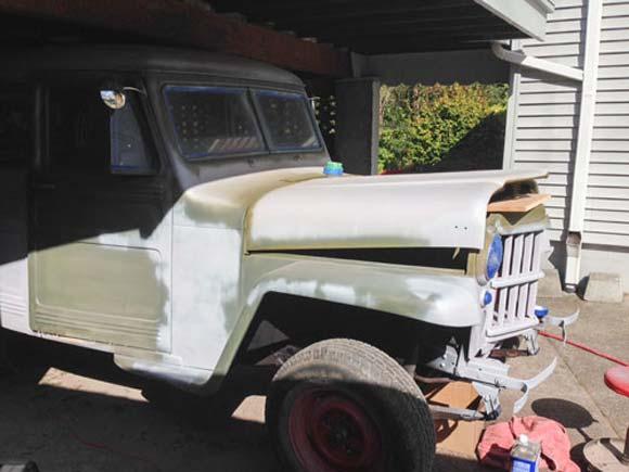 Jeff Smith's 1951 Willys Station Wagon