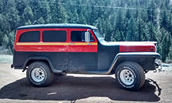 James Black's 1956 Willys Station Wagon