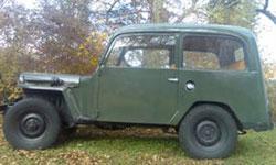 Christopher Vock - 1950 Willys CJ-3A