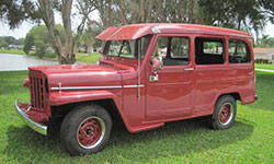 Dominic Bellestri - 1953 Willys Deluxe Wagon