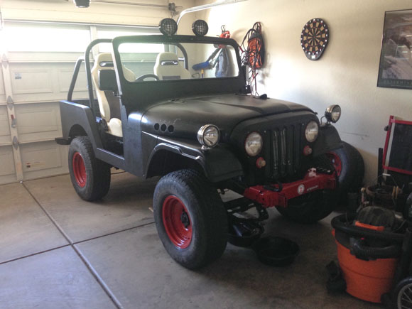 Casey Patton's 1976 DJ-5 Jeep