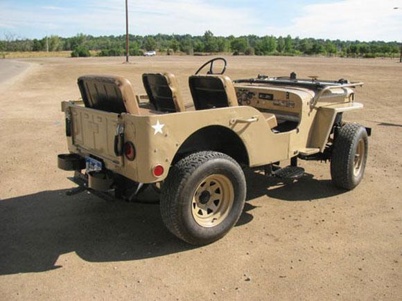 Antony Hunt's 1948 Willys CJ-2A