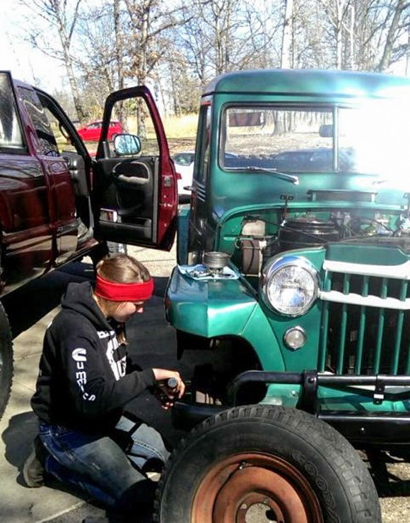 Hannah Lauzon's 1956 Willys Truck