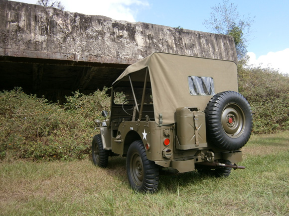 Doug Holdrege's 1952 Willys M38
