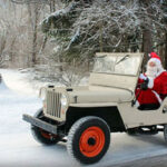 My Santa Drives a Willys Jeep