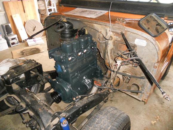 Greg Combs' 1958 Willys CJ-5
