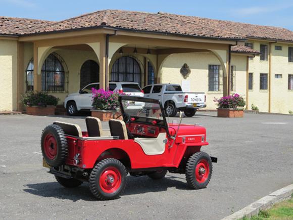 Ovidio Patiño Montoya 1953 Willys CJ-3B