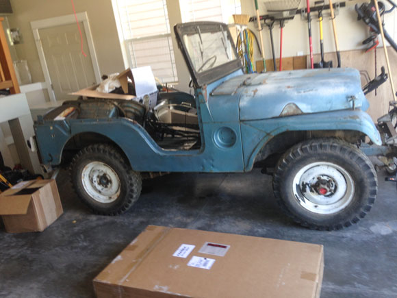 Michael Parker's 1953 Willys M38A1