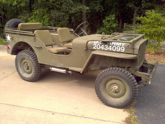 David Hlatko's 1945 Willys MB