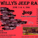 Upcoming 2016 Willys & Jeep Events