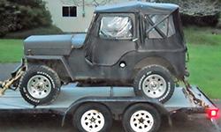 James Webb - 1953 Willys CJ-3B