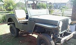 Klasie Breytenbach - Willys CJ-2A