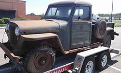 Sandi Metcalf - Willys Truck