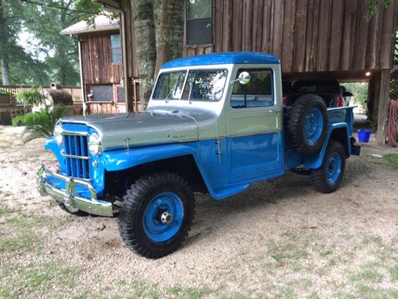 Joe Blanchard's 1959 Willys Truck