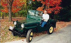 Bruce Linafelter - 1949 Willys CJ-2A