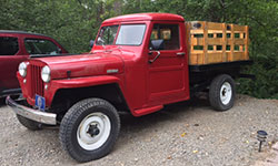 Chuck Hinds - 1946 Willys Truck