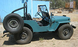 Doug Roehr - 1946 Willys CJ-2A
