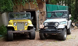 Mike Goff - 1969 and 1970 CJ-5 Renegade