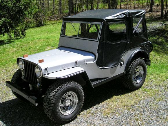 Amanda Austin's 1948 Willys CJ-2A