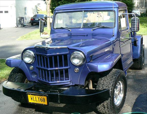 John Mead's 1958/59 Willys Truck