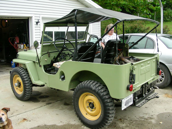 Dave Minnich 1946 Willys CJ-2A