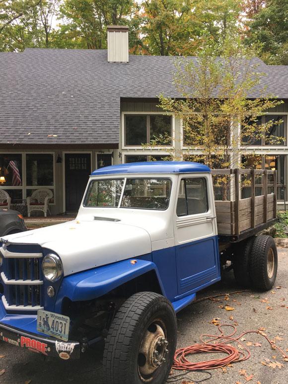 Peter Bucci's 1957 Willys Truck