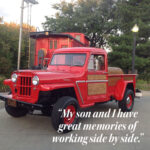 Father and Son Frame Off Willys Truck Restoration Project