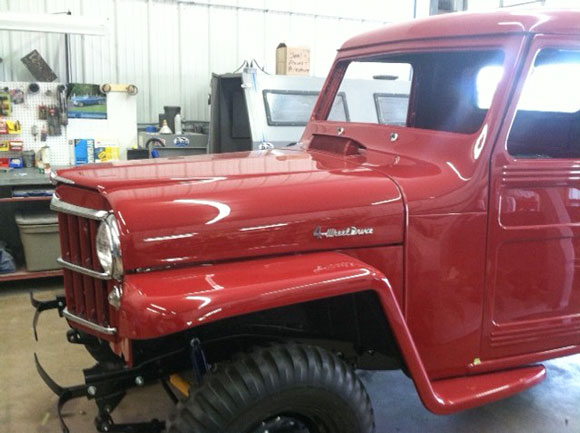 Tom Brandt's 1954 Willys Truck