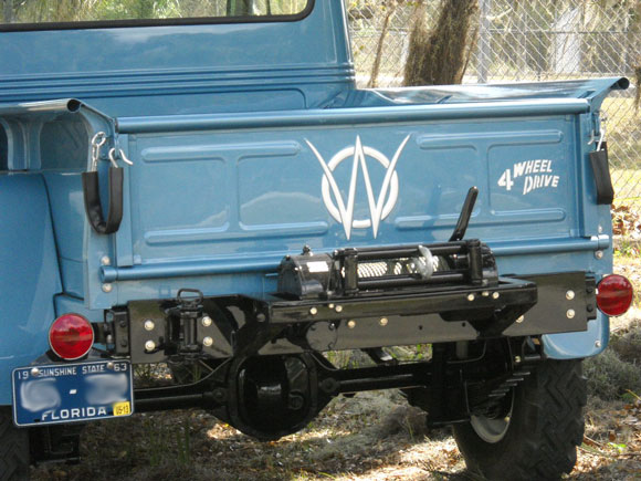 Mike Adams' 1963 Willys Truck