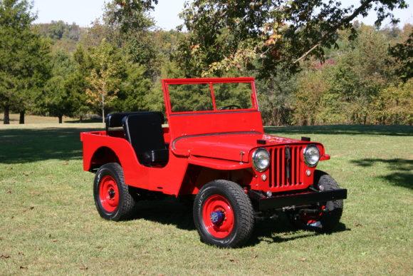 David Jones' Willys CJ-2A