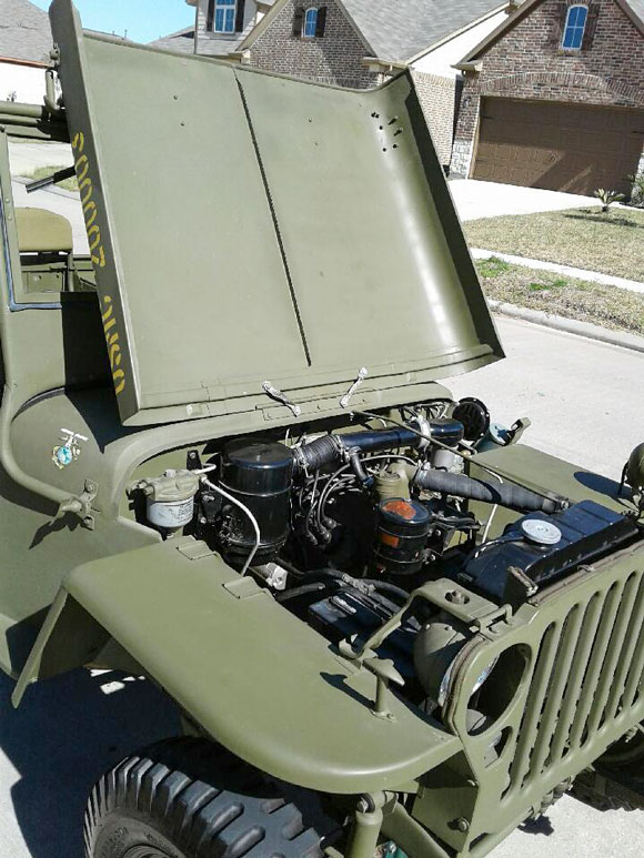 Kevin Englade's 1943 Willys MB