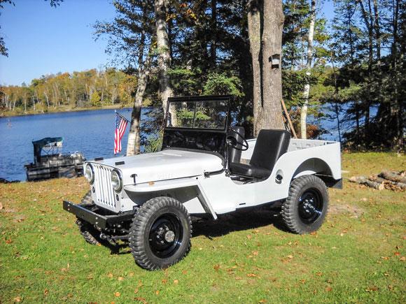 Randy Souter's 1946 Willys CJ-2A
