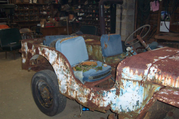 Ryan Mattingly's 1945 Willys MB