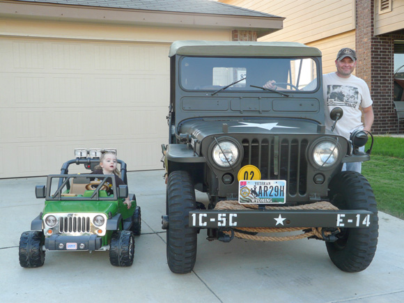 Timothy Souza's 1952 Willys M38