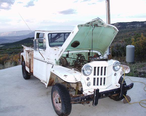 Brent Harper's 1961 Willys Pickup