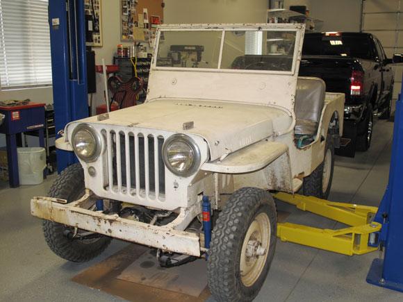 Curt Porteus' 1948 Willys CJ-2A
