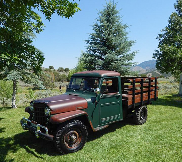 Todd Burgin's 1952 Willys Truck