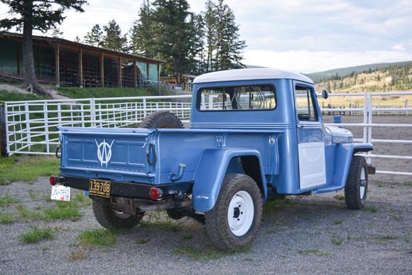 Chris Gentile's 1956 Willys Truck