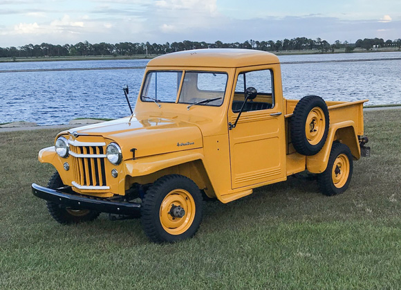 Chester and Debbie Littlefield's 1955 Truck