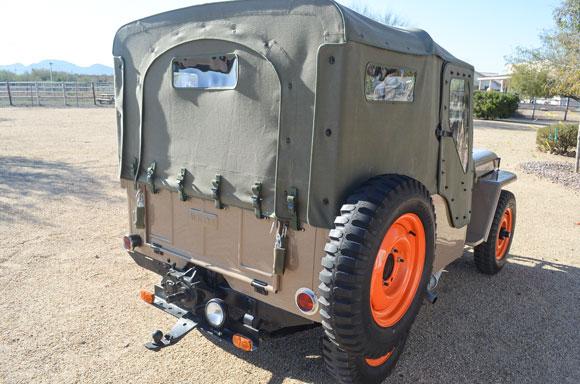 Rick MacMillan's 1946 Willys CJ-2A