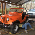 A Father and Son CJ-5 Restoration Project