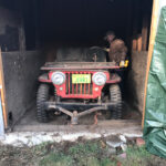 A Willys CJ-2A Barn Find and the Start of a First Time Restoration Project
