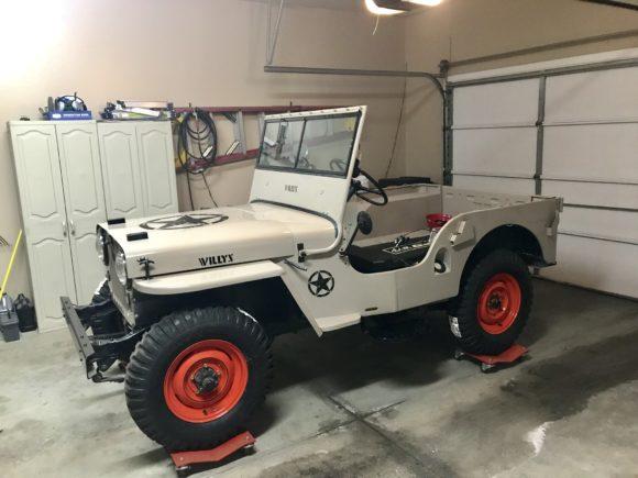 Paul Amato's 1948 Willys CJ-2A